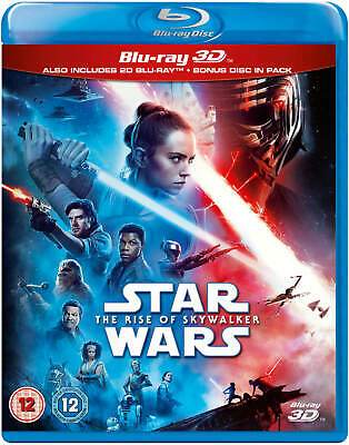 STAR WARS: THE RISE OF SKYWALKER 3D Blu-ray IN STOCK  - US Seller