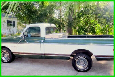 1972 Chevrolet C10 Cheyenne  1972 Chevrolet C10 Cheyenne Classic Numbers Matching 350 5.7L TH350 3-Speed