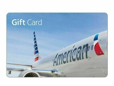 American Airlines Electronic Gift Card - $100  (Read Description)