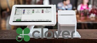 Clover POS C100 System, Printer And Chip Reader.