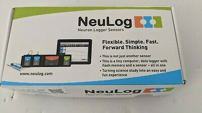 NEULOG Heart Rate and Pulse Logger Sensor, NUL-208 - 100 S/sec - New