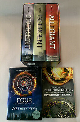 Divergent Series Volumes 1 To 4 HB/ DJ, 1st Edition; Plus World Of Veronica Roth