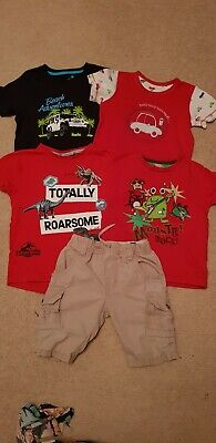 Boys T-shirts Bundle Age 2-3 years incl Minions, Gap, Ben Sherman