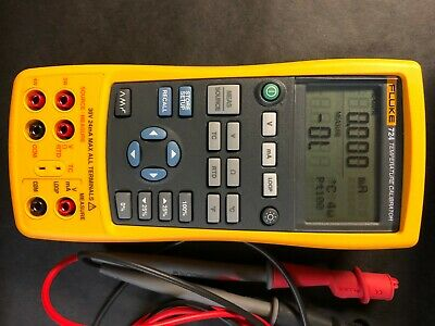 Fluke 724 Temperature Calibrator Excellent Condition