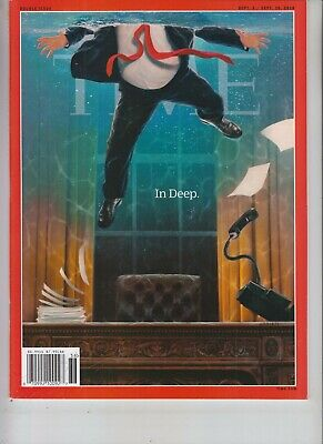 Donald Trump Time Magazine September 3 2018 No Label In Deep