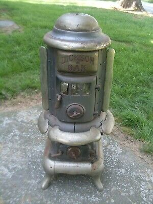 Antique Dickson Oak #13 Stove Manufactured in Dickson City PA Wood Coal
