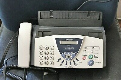 Brother Fax-575 Personal Plain Paper Fax Phone and Copier Used