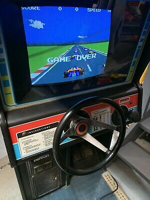 Atari Pole Position Cockpit Fully Working Arcade Machine Rare