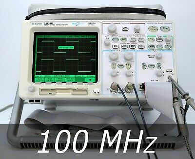 HP / Agilent 54622D 2+16 channel 100 MHz Oscilloscope + A / D Probes. Very clean