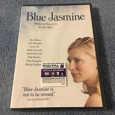 Blue Jasmine (DVD, 2014, Widescreen) Brand New Sealed, Digital Code Expired