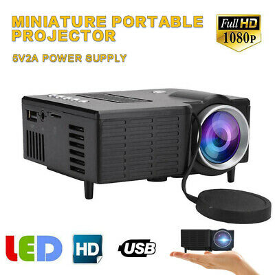 UC28C Mini  Portables Projector Home Family LED USB Micro Mobile Phone Projector