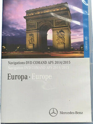 Navigations DVD Comand APS 2014/2015 Blau
