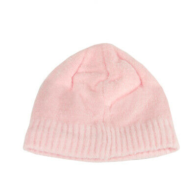 Christmas Central Women's Pink Aloe Vera Plush Winter Beanie Hat - One Size
