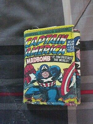 Captain America Mens Wallet