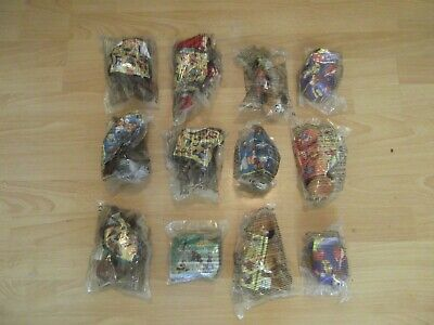 """BUNDLE OF McDONALDS """"DISNEY VIDEO"""" COLLECTABLE TOYS (ALL NEW IN PACKAGING)"""