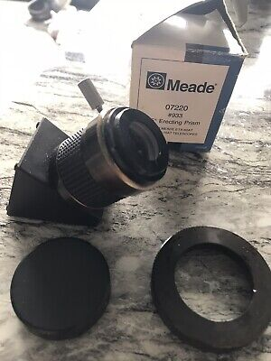 Mead 45 * Erecting Prism For Mead Ext-60A and - 70AT Telescopes