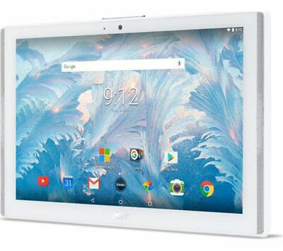 Grade2B - ACER Iconia One 10 B3-A40 10.1in Tablet - 16 GB - White - HD Ready dis