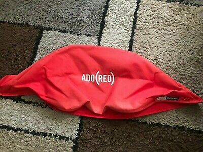 Bugaboo Cameleon Red Canvass Tailored Fabric  Hood Canopy.