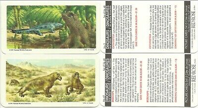 1991 Lipton Red Rose Dino Tea Cards - Rare - Never Issued!!!
