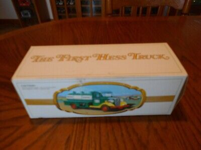 "Vintage 1982 ""The First Hess Truck"", 1933 Chevrolet Tanker Delivery Truck, Used"