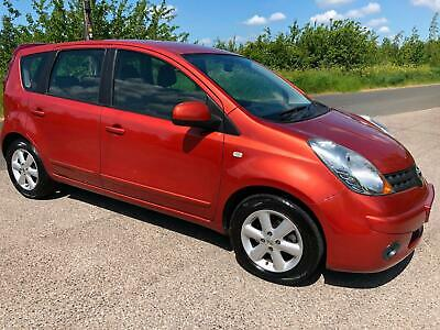 Nissan Note 1.4 Acenta 5 Door Low Mileage Only 72,000 Small Engine Cheap To Run