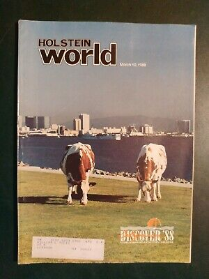 "Holstein World 1988 The 1987 All-American Awards ""Charity"" + National Convention"