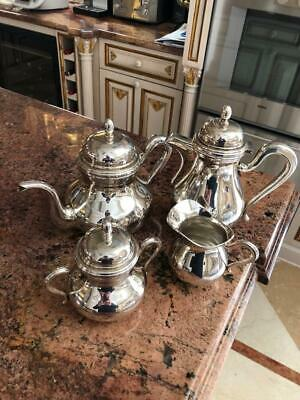 Antique Continental Silver Four Piece Tea And Coffee Service