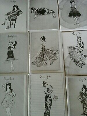 40 Black And White Cards, Wholesale Joblot Greeting Cards