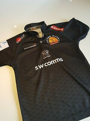 Boys Exeter Chiefs 2018/2019 Replica Home Rugby Shirt Xs (Age 10/11/12)