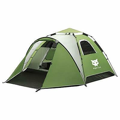 NIGHT CAT WATERPROOF Camping 1 2 Persons(200*180*120cm) Blue
