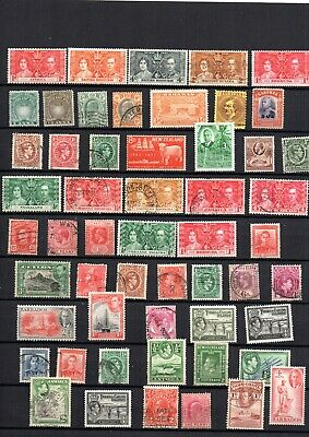 Excellent Collection Of King George V/Vi  Stamps, British Colonies  Mint & Used