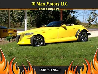 1999 Plymouth Prowler  1999 Plymouth Prowler Base 20,100 Miles Yellow  3.5L V6 SOHC 24V Select