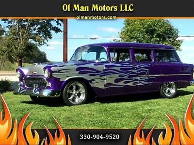 1955 Chevrolet Bel Air/150/210 Street Rod, Hot Rod, Classic Car Resto Mod 1955 Chevrolet 210 Street Rod, Hot Rod, Classic Car Resto Mod 6,048 Miles Purple