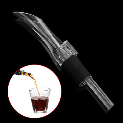 New Decanter Portable Acrylic Aerator Aerating Bar Tool Wine Pourer
