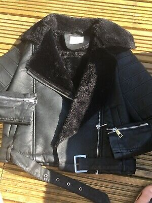 Gorgeous Girls Faux Leather Jacket, Aged 10 Yrs, Matalan