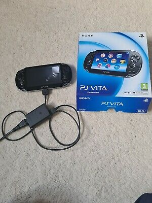 Sony PlayStation PS Vita - PCH-1003 - Boxed In Good Condition - 16gb memory card