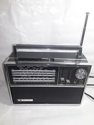 Retro Radio 1970's Bush VTR178 Multiband Radio 1973 Made In Japan