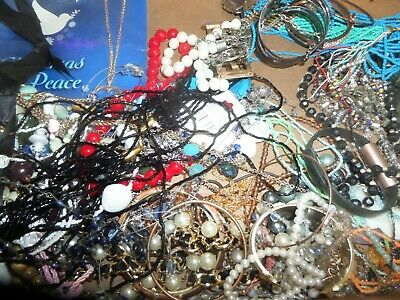 18 Pound 13 Ounce Box Assorted Jewelry