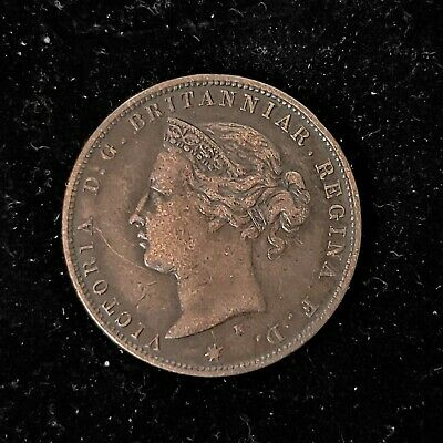 Jersey 1877 H 1/24th One Twenty-Fourth of a Shilling