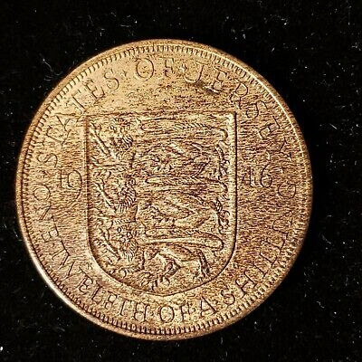 Jersey 1946 1/12th One Twelfth of a Shilling