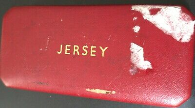 Jersey 1964 4 Coin Proof Set in Original Box of Issue