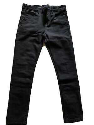Boys Black Next Skinny Jeans Age 13 WORN ONCE