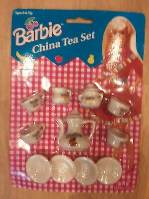 Barbie Toy China Tea Set NEW