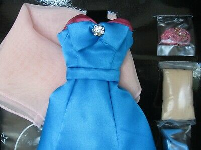 Gene Doll BLUE EVENING Dress Outfit  Ashton-Drake Collection NRFB