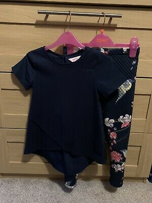 Gorgeous Ted Baker Top And Leggings Set - Aged 5-6 - Vgc