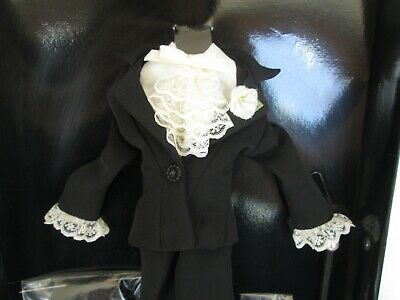 Gene Doll BLOND LACE Black Pants Outfit  Ashton-Drake Collection NRFB