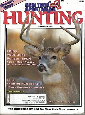 """172 page """"New York Sportsman- Hunting"""" MagazineSPECIAL ISSUE - September 1995"""