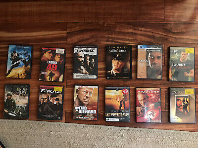 DVD Lot CLASSIC ACTION DRAMA TOP MOVIES 12 DVDS SET