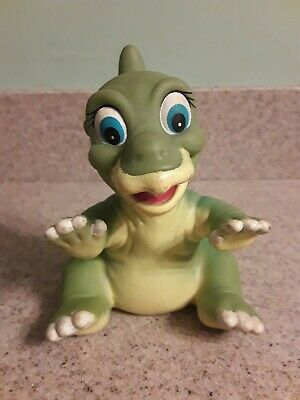 Pizza Hut Toy Vintage 1988 The Land Before Time Movie Ducky Dinosaur Hand Puppet