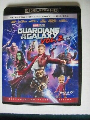 Guardians of the Galaxy: Volume 2 (Blu-ray, 2017)